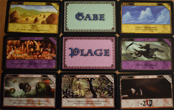 Dominion Nocturne Gaben - Plagen - Zustände