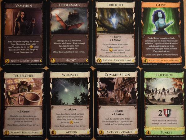 Dominion Nocturne Kartenauswahl