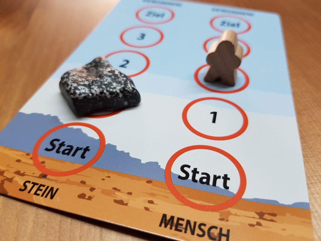 Box of Rocks Spielplan