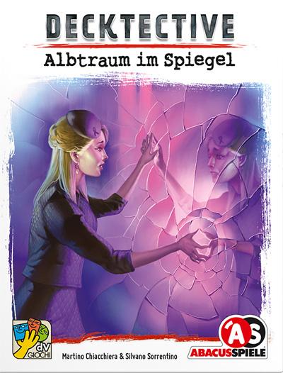 Decktective Albtraum im Spiegel Cover