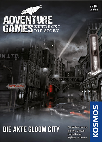 Adventure Games Gloom City - Cover