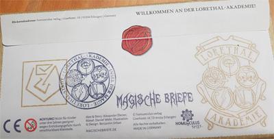 Magische Briefe Umschlag