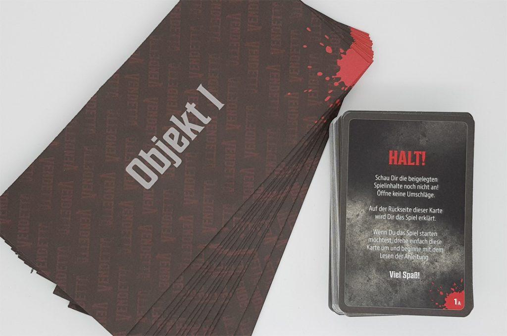 Vendetta Karten & Objekte