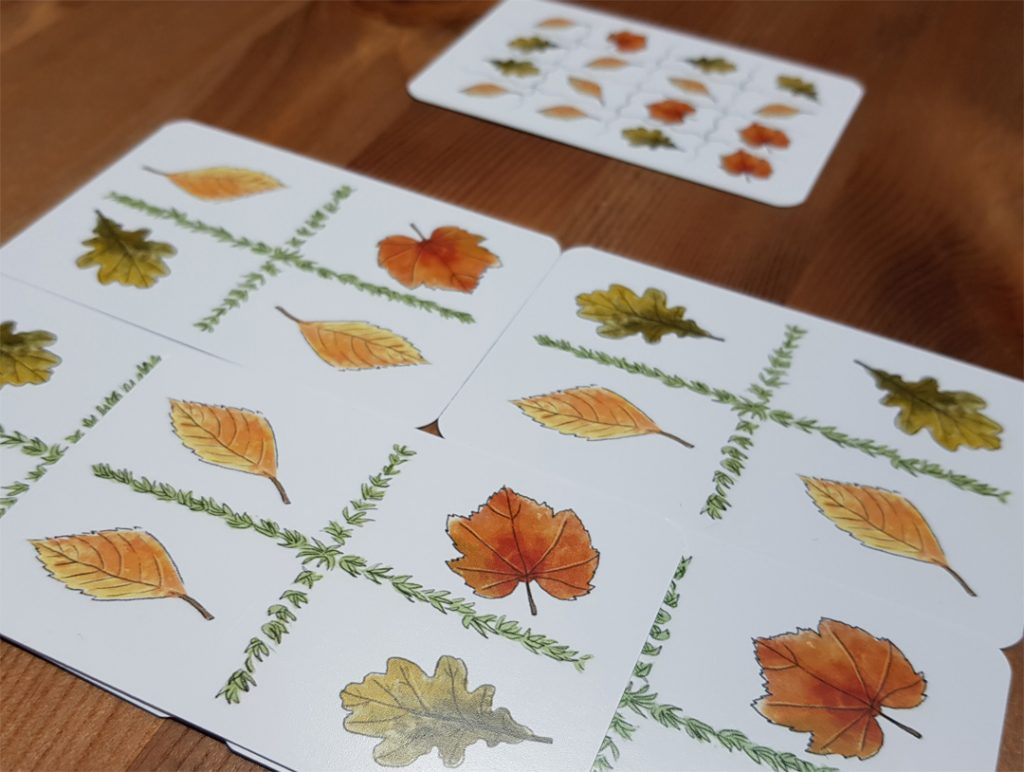 Bunte Blätter - Auflösung