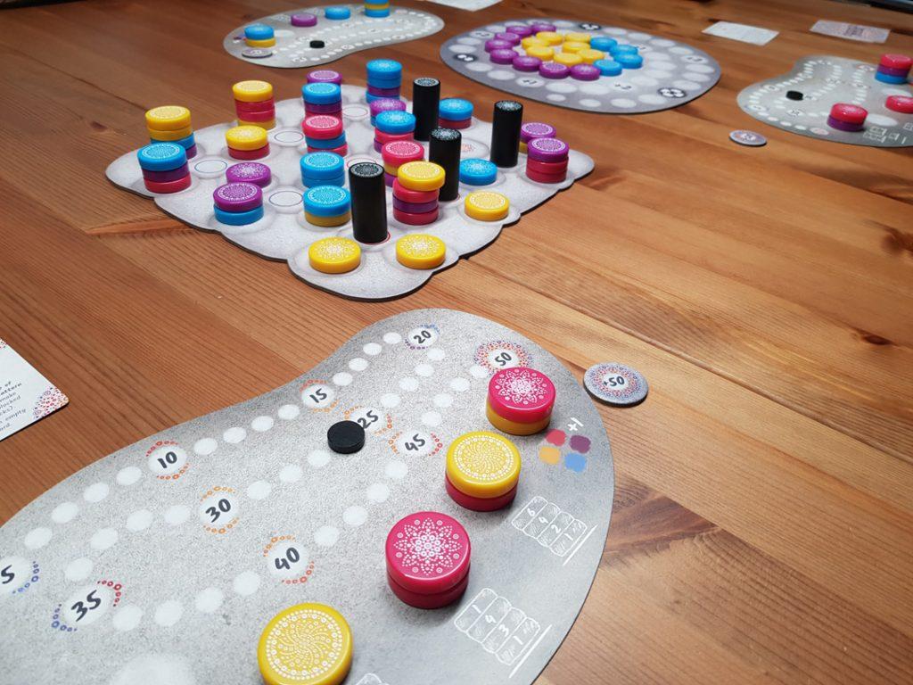 Mandala Stones Spielsituation