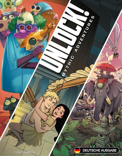 Unlock! Mythic Adventures Cover