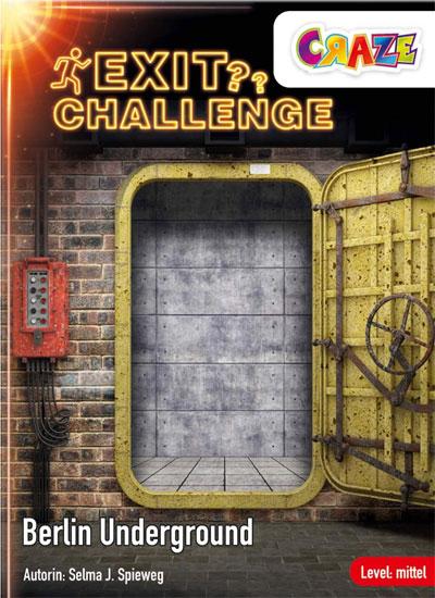 Exit Challenge: Berlin Underground: Cover