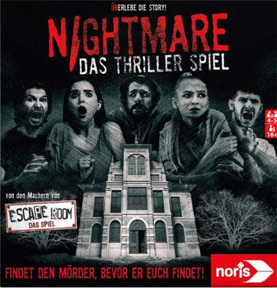 Nightmare - Das Thriller-Spiel - Cover