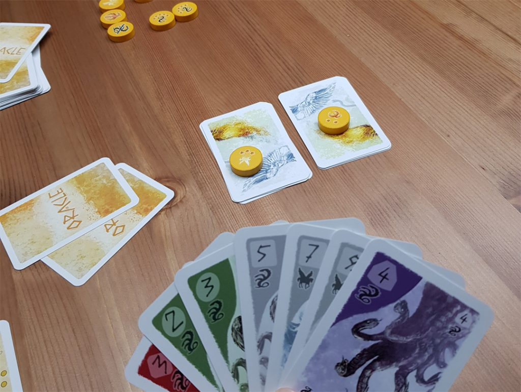 Oracle - Spielsituation