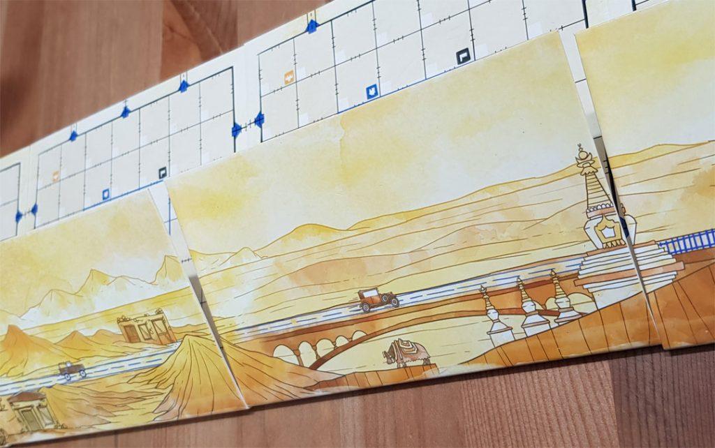 RR Ink Challenge Sonnengelb Illustrationen