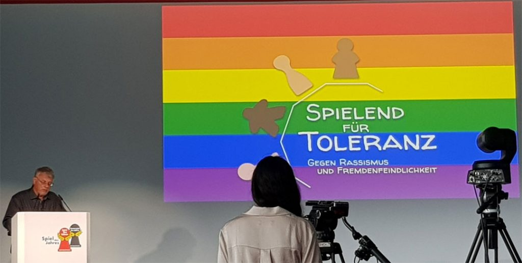 SdJ21 Spielend für Toleranz