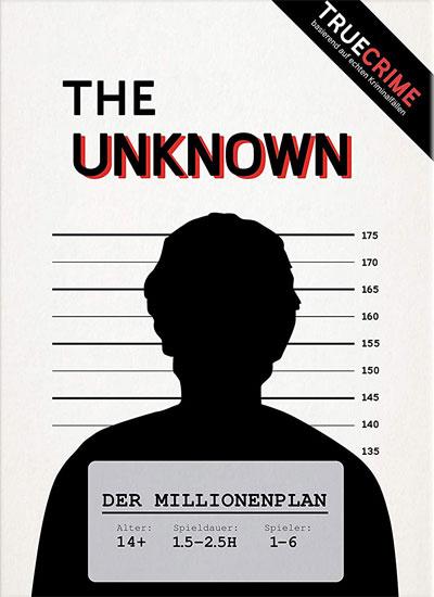 The Unknown - Der Millionenplan - Cover