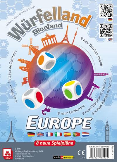 Würfelland Europa Cover