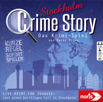 Crime Story - Stockholm / Cover