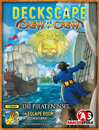 Deckscape - Crew: Pirateninsel - Cover
