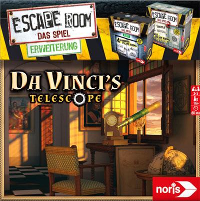 Escape Room: Da Vinci's Telescope Cover