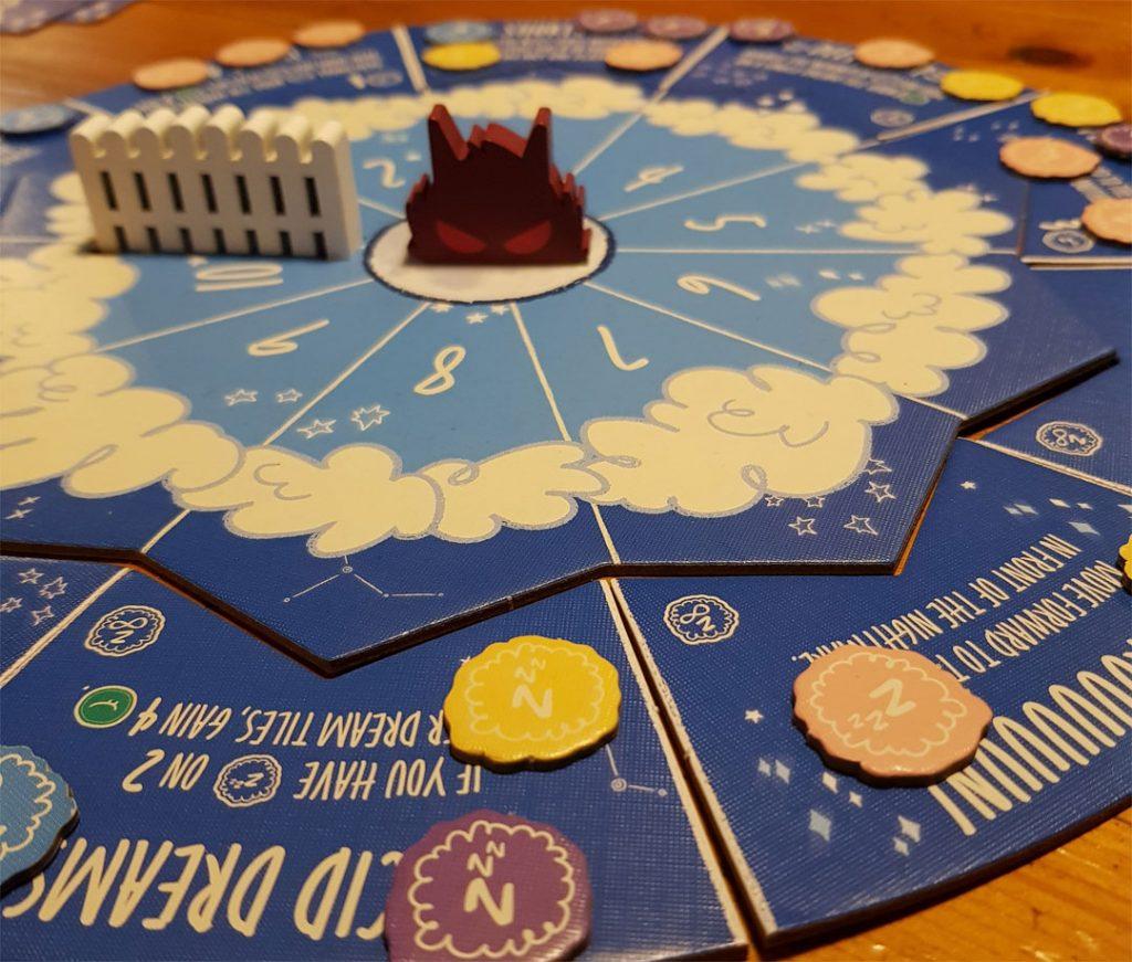 Sheepy Time Spielplan