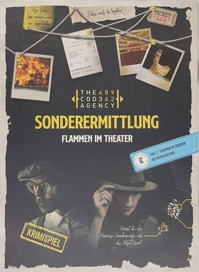 Sonderermittlung - Fall 1: Theater in Flammen Cover