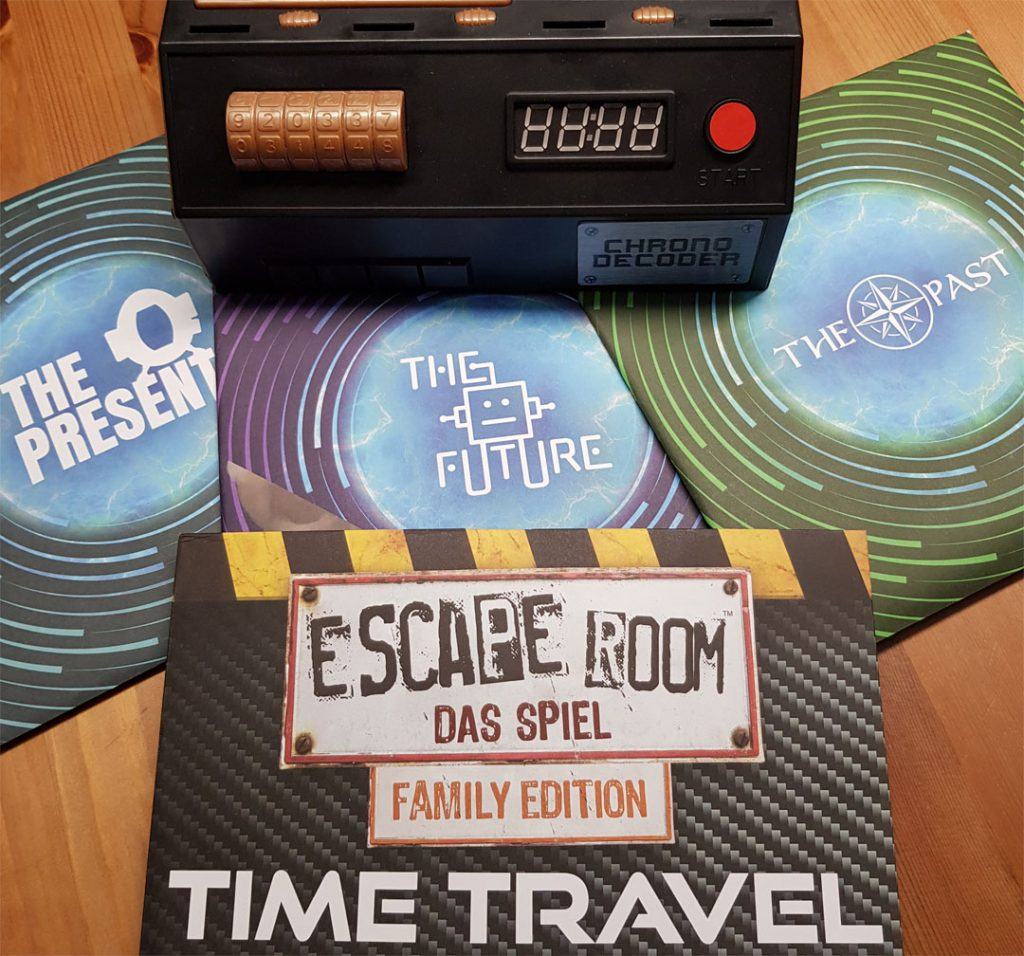 ER Time Travel Spielmaterial