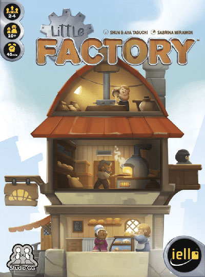 Little Factory - Cover