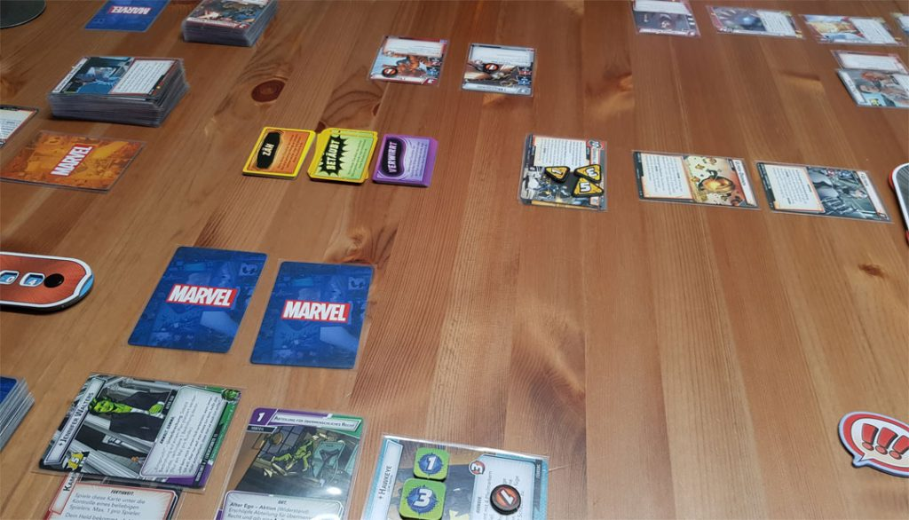 Marvel Champions Spielsituation