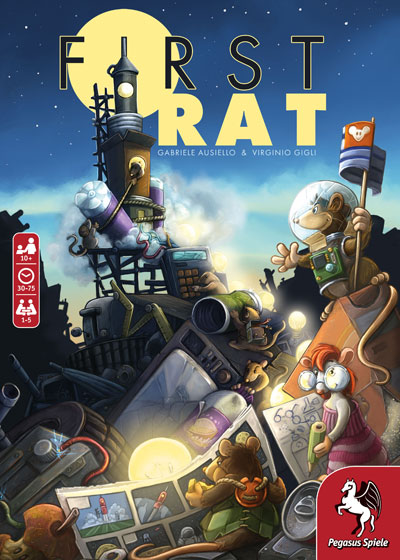 First Rat Cover